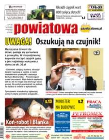 Gazeta Powiatowa - Wiadomości Oławskie, 2016, nr 11