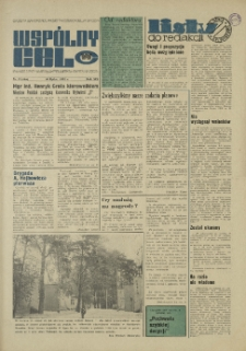 """Wspólny cel : Gazeta samorządu robotniczego """"Celwiskozy"""", 1971, nr 19 (466)"""