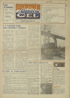 """Wspólny cel : gazeta załogi ZWCH """"Chemitex-Celwiskoza"""", 1986, nr 19 (992)"""