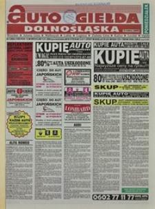 Auto Giełda Dolnośląska : regionalna gazeta ogłoszeniowa, 2004, nr 1 (1089) [5.01]