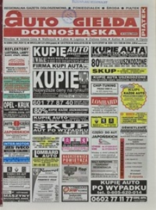 Auto Giełda Dolnośląska : regionalna gazeta ogłoszeniowa, 2004, nr 3 (1091) [9.01]