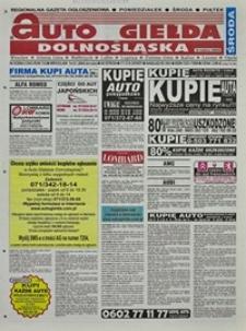 Auto Giełda Dolnośląska : regionalna gazeta ogłoszeniowa, 2004, nr 5 (1093) [14.01]