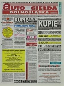 Auto Giełda Dolnośląska : regionalna gazeta ogłoszeniowa, 2004, nr 7 (1095) [19.01]