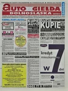 Auto Giełda Dolnośląska : regionalna gazeta ogłoszeniowa, 2004, nr 8 (1096) [21.01]
