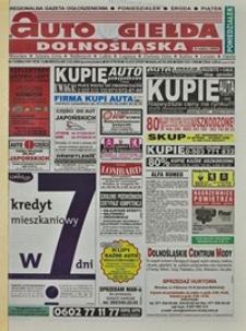 Auto Giełda Dolnośląska : regionalna gazeta ogłoszeniowa, 2004, nr 13 (1101) [2.02]