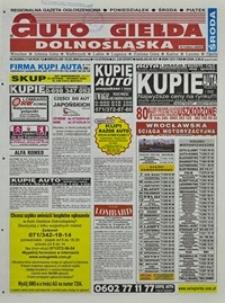 Auto Giełda Dolnośląska : regionalna gazeta ogłoszeniowa, 2004, nr 20 (1108) [18.02]