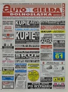 Auto Giełda Dolnośląska : regionalna gazeta ogłoszeniowa, 2004, nr 21 (1109) [20.02]