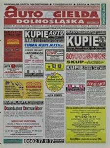 Auto Giełda Dolnośląska : regionalna gazeta ogłoszeniowa, 2004, nr 22 (1110) [23.02]