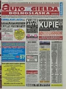 Auto Giełda Dolnośląska : regionalna gazeta ogłoszeniowa, 2004, nr 23 (1111) [25.02]