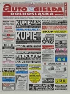 Auto Giełda Dolnośląska : regionalna gazeta ogłoszeniowa, 2004, nr 24 (1112) [27.02]