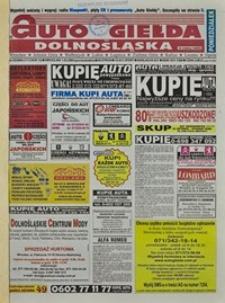 Auto Giełda Dolnośląska : regionalna gazeta ogłoszeniowa, 2004, nr 25 (1113) [1.03]
