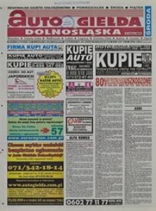 Auto Giełda Dolnośląska : regionalna gazeta ogłoszeniowa, 2004, nr 26 (1114) [3.03]
