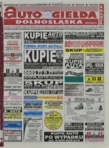 Auto Giełda Dolnośląska : regionalna gazeta ogłoszeniowa, 2004, nr 27 (1115) [5.03]