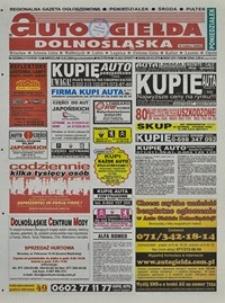 Auto Giełda Dolnośląska : regionalna gazeta ogłoszeniowa, 2004, nr 29 (1117) [10.03]