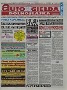 Auto Giełda Dolnośląska : regionalna gazeta ogłoszeniowa, 2004, nr 30 (1118) [12.03]