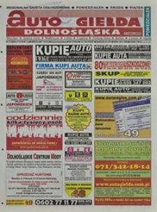 Auto Giełda Dolnośląska : regionalna gazeta ogłoszeniowa, 2004, nr 31 (1119) [15.03]