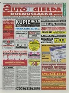 Auto Giełda Dolnośląska : regionalna gazeta ogłoszeniowa, 2004, nr 34 (1122) [22.03]