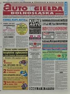 Auto Giełda Dolnośląska : regionalna gazeta ogłoszeniowa, 2004, nr 35 (1123) [24.03]