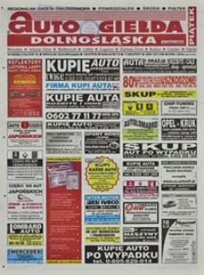 Auto Giełda Dolnośląska : regionalna gazeta ogłoszeniowa, 2004, nr 36 (1124) [26.03]