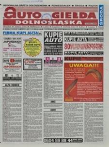 Auto Giełda Dolnośląska : regionalna gazeta ogłoszeniowa, 2004, nr 38 (1126) [31.03]