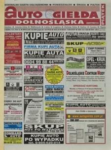 Auto Giełda Dolnośląska : regionalna gazeta ogłoszeniowa, 2004, nr 39 (1127) [2.04]