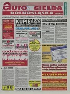 Auto Giełda Dolnośląska : regionalna gazeta ogłoszeniowa, 2004, nr 40 (1128) [5.04]
