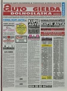Auto Giełda Dolnośląska : regionalna gazeta ogłoszeniowa, 2004, nr 41 (1129) [7.04]