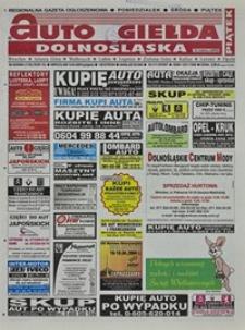 Auto Giełda Dolnośląska : regionalna gazeta ogłoszeniowa, 2004, nr 42 (1130) [9.04]