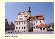 Ratusz w Wołowie [Dokument ikonograficzny]