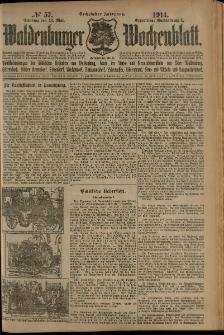 Waldenburger Wochenblatt, Jg. 60, 1914, nr 57