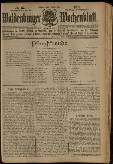 Waldenburger Wochenblatt, Jg. 60, 1914, nr 65