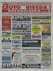 Auto Giełda Dolnośląska : regionalna gazeta ogłoszeniowa, 2004, nr 44 (1132) [16.04]