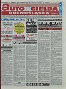 Auto Giełda Dolnośląska : regionalna gazeta ogłoszeniowa, 2004, nr 49 (1137) [28.04]