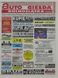 Auto Giełda Dolnośląska : regionalna gazeta ogłoszeniowa, 2004, nr 52 (1140) [7.05]