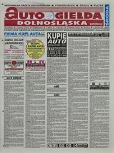Auto Giełda Dolnośląska : regionalna gazeta ogłoszeniowa, 2004, nr 57 (1145) [19.05]