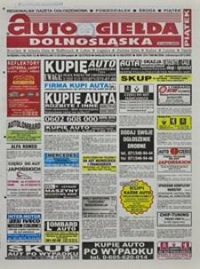 Auto Giełda Dolnośląska : regionalna gazeta ogłoszeniowa, 2004, nr 58 (1146) [21.05]