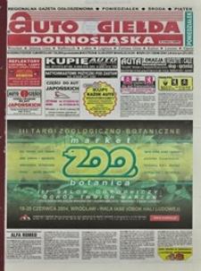Auto Giełda Dolnośląska : regionalna gazeta ogłoszeniowa, 2004, nr 65 (1153) [7.06]