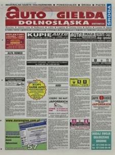 Auto Giełda Dolnośląska : regionalna gazeta ogłoszeniowa, 2004, nr 72 (1160) [23.06]