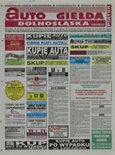 Auto Giełda Dolnośląska : regionalna gazeta ogłoszeniowa, 2004, nr 73 (1161) [25.06]