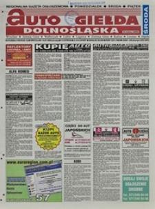 Auto Giełda Dolnośląska : regionalna gazeta ogłoszeniowa, 2004, nr 81 (1169) [14.07]
