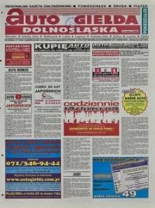 Auto Giełda Dolnośląska : regionalna gazeta ogłoszeniowa, 2004, nr 83 (1171) [19.07]