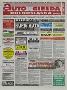Auto Giełda Dolnośląska : regionalna gazeta ogłoszeniowa, 2004, nr 85 (1173) [23.07]