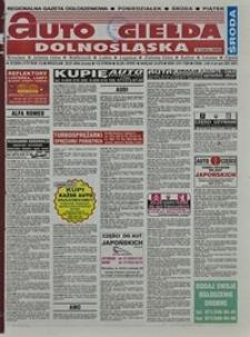 Auto Giełda Dolnośląska : regionalna gazeta ogłoszeniowa, 2004, nr 87 (1175) [28.07]