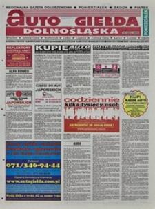 Auto Giełda Dolnośląska : regionalna gazeta ogłoszeniowa, 2004, nr 92 (1180) [9.08]