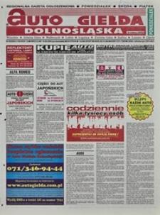 Auto Giełda Dolnośląska : regionalna gazeta ogłoszeniowa, 2004, nr 95 (1183) [16.08]
