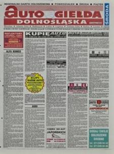 Auto Giełda Dolnośląska : regionalna gazeta ogłoszeniowa, 2004, nr 96 (1184) [18.08]