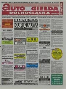 Auto Giełda Dolnośląska : regionalna gazeta ogłoszeniowa, 2004, nr 97 (1185) [20.08]