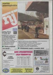 Nowiny Jeleniogórskie : tygodnik społeczny, R. 40, 1997, nr 45 (2056)