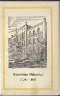 Nachrichtenblatt der Schulgemeinde des Schweidnitzer Gymnasiums Jg. 9/1932, Nr. 4