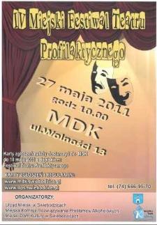 IV Miejski Festiwal Teatru Profilaktycznego